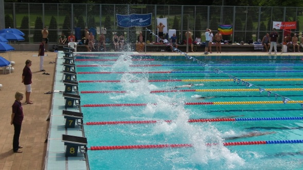 EuroGames 2012 Swimming Tournament - The Big Splash